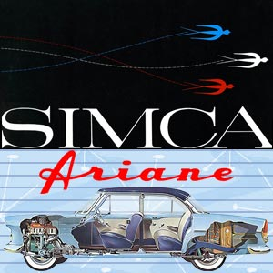 Simca Ariane, the most economical large Simca
