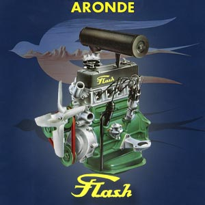 Simca Aronde Flash engine